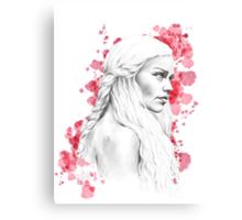 Daenerys Stormborn Canvas Print