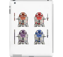 TEENAGE MUTANT NINJA ROBOTS + weapons iPad Case/Skin