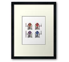 TEENAGE MUTANT NINJA ROBOTS + weapons Framed Print