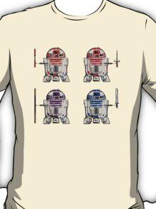 TEENAGE MUTANT NINJA ROBOTS + weapons T-Shirt