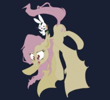 Flutterbat and Angel-Bunnicula by aviantheatrics
