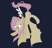 Flutterbat and Angel-Bunnicula by aviantheatrics