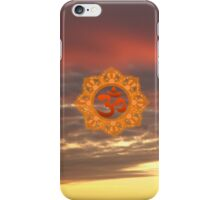 Om Sky iPhone Case/Skin