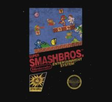 "Distressed Super Smash Bros. ""Retrofied"" Kids Clothes"