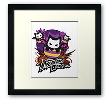 Mischievous Attack - Puzzle & Dragons Framed Print