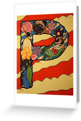 The Letter P Full Painting by alphabetbyjason