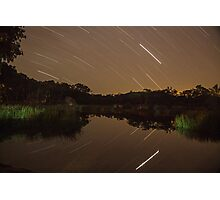 Stars over Dunns Swamp Photographic Print