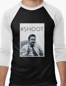 #SHOOT Men's Baseball ¾ T-Shirt