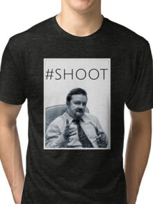 #SHOOT Tri-blend T-Shirt
