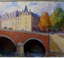 Pont St Michel, Paris by janalan