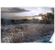 Frosty River Stour Poster