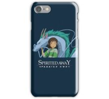 Spirited Away Chihiro and Haku-Studio Ghibli iPhone Case/Skin