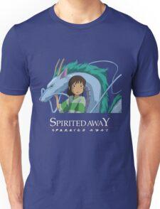 Spirited Away Chihiro and Haku-Studio Ghibli Unisex T-Shirt