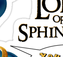 Lord of the Sphincters Sticker