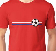 Football Stripes Chile Unisex T-Shirt