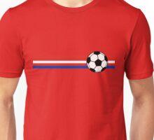 Football Stripes Chile Unisex T-Shirt