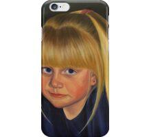 Self portrait as a child iPhone Case/Skin