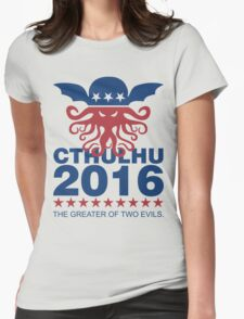 Vote Cthulhu 2016 Womens Fitted T-Shirt