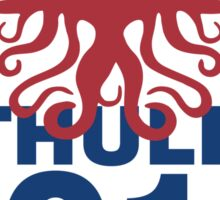 Vote Cthulhu 2016 Sticker