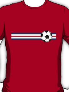 Football Stripes Costa Rica T-Shirt