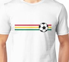 Football Stripes Ghana Unisex T-Shirt