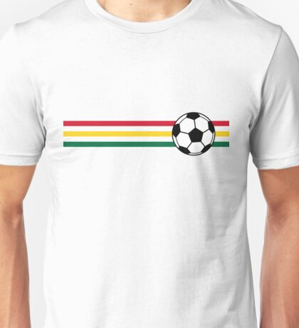 Football Stripes Ghana Unisex T-Shirt