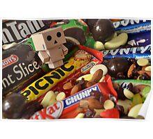 Danbo's Chocolate Heaven Poster
