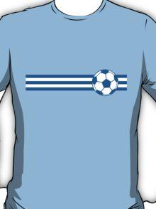 Football Stripes Greece T-Shirt