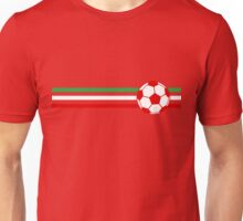 Football Stripes Iran  Unisex T-Shirt