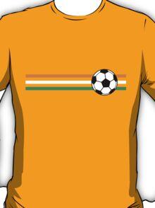 Football Stripes Ivory Coast T-Shirt
