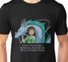 Spirited Away Chihiro and Haku-Studio Ghibli Unisex T-Shirt