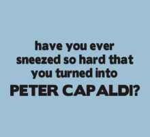 Fun fact: sneezing will turn you into Peter Capaldi by slitheenplanet