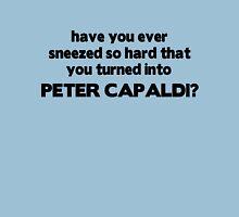 Fun fact: sneezing will turn you into Peter Capaldi Unisex T-Shirt