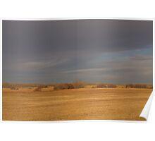 Autumn Prairies Poster
