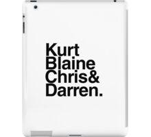 kbc&d iPad Case/Skin
