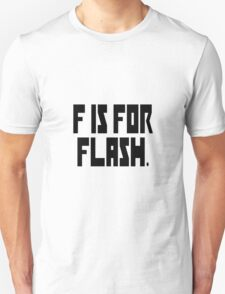 F is for Flash T-Shirt