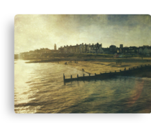 Southwold in Winter Canvas Print