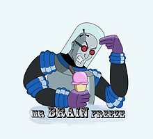 Mr BRAIN Freeze by Kate Crabtree