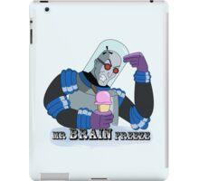 Mr BRAIN Freeze iPad Case/Skin