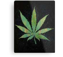Pot Leaf Metal Print