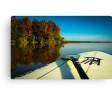 Fall Paddle Canvas Print