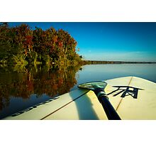 Fall Paddle Photographic Print