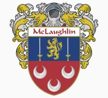 McLaughlin Coat of Arms/Family Crest by William Martin
