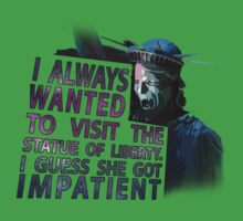 Weeping Angel Statue of Liberty by kreativeauth