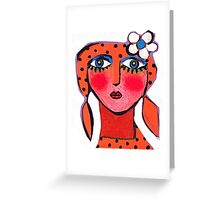 Dotty Annie  Greeting Card
