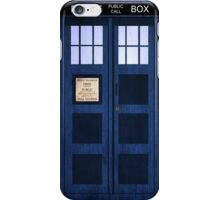 Portable Doctor Who Tardis iPhone Case/Skin
