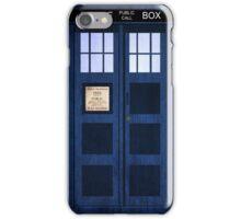 Portable Doctor Who Tardis iPhone Case/Skin