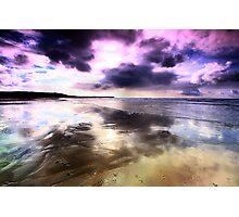Elements - The purple fringe Photographic Print
