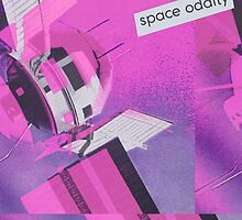 Space Oddity Pink Satellite by boypilot