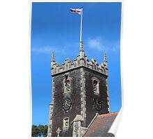 Bell Tower of St Mary Magdelene Church, Sandringham Poster